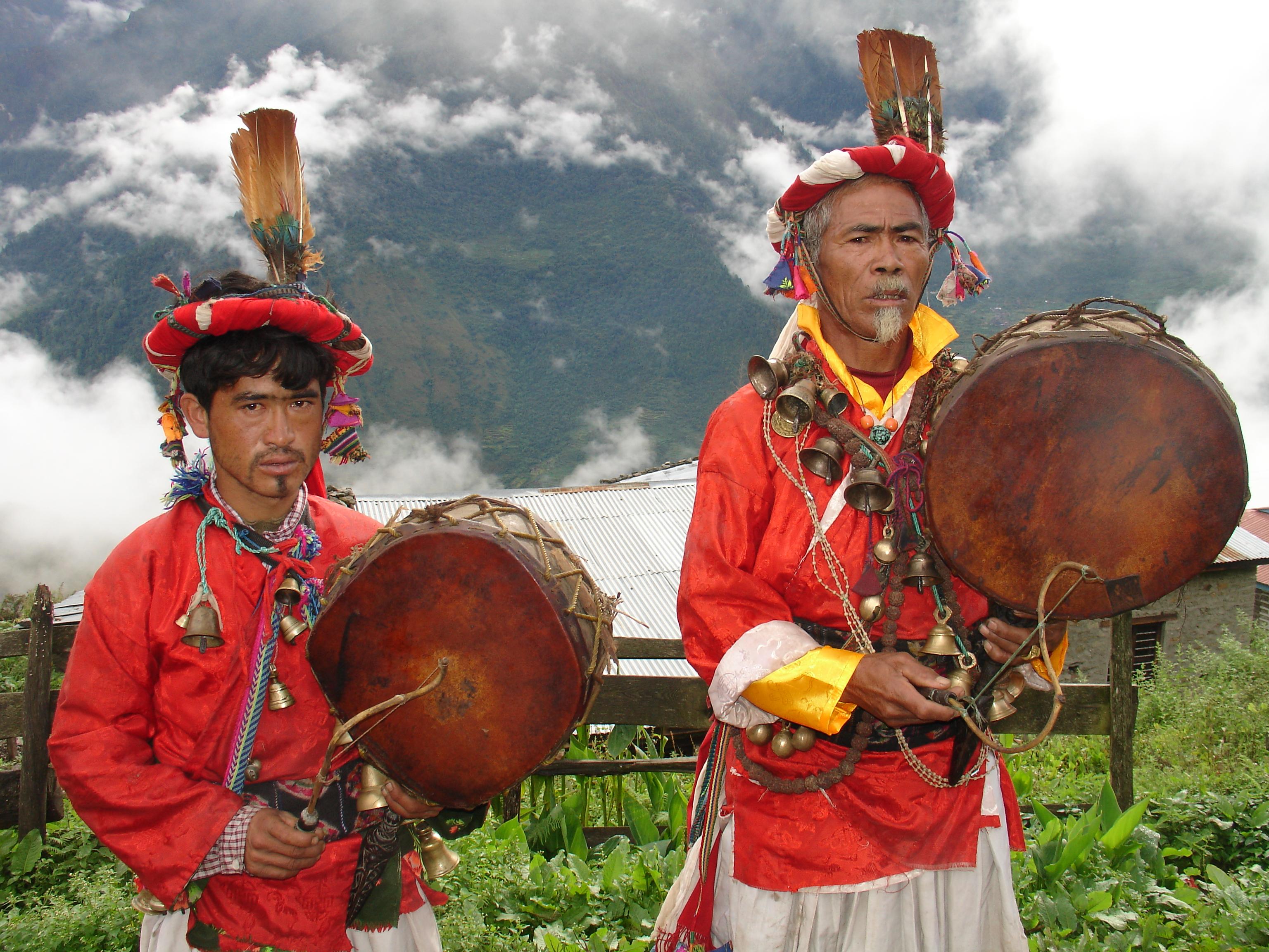 Shamanism in Nepal - Snow Leopard Trek