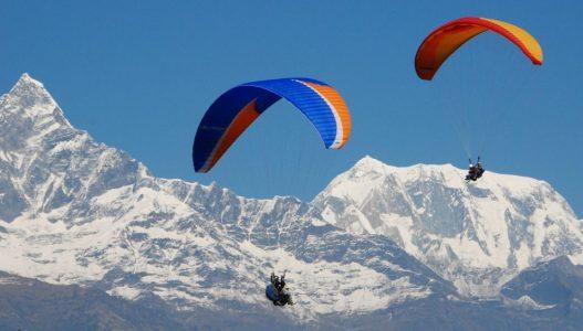Paragliding in Pokhara/ Kathmandu