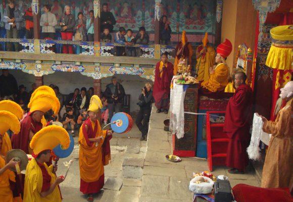 Mani Rimdu Festival In Chiwong
