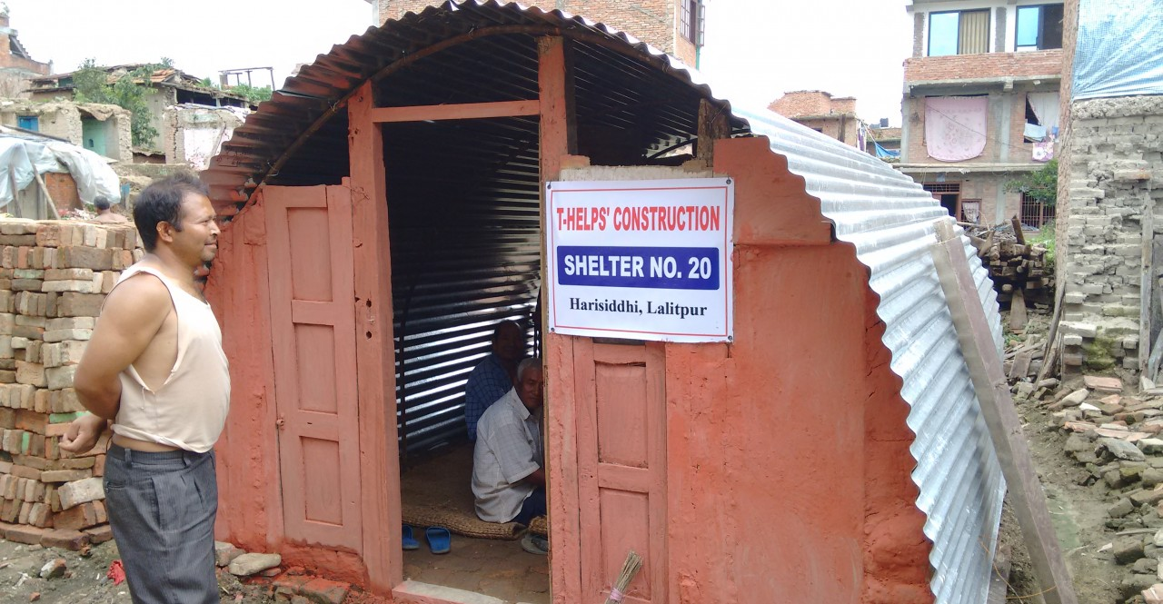 T-HELP relief work at Harishiddi and Bade Gaun