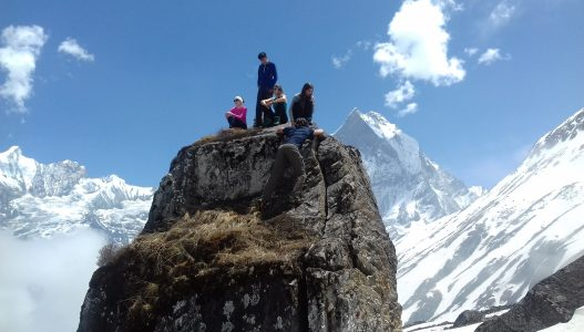 Annapurna Base Camp Trek (Easy walking)
